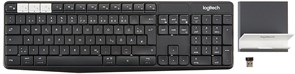 (1026551) Клавиатура Logitech K375s Multi-Device with Stand Combo Graphite/Offwhite