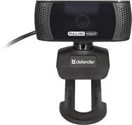 (1026563) Веб-камера G-lens 2694 Full HD 1080p, 2 МП, автофокус DEFENDER
