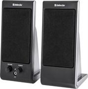 (1026555) Акустическая 2.0 система Defender SPK-170 черный, 4 Вт, питание от USB