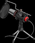 (1026573) Игровой стрим микрофон Forte GMC 300 3,5 мм, провод 1.5 м DEFENDER