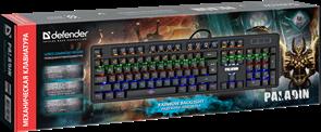 (1026583) Механическая клавиатура Paladin GK-370L RU,Rainbow DEFENDER
