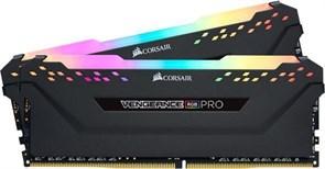 (1026720) Память DDR4 2x8Gb 3200MHz Corsair CMH16GX4M2E3200C16 Vengeance RGB Pro RTL Gaming PC4-25600 CL16 DIM