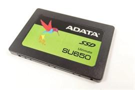 """(1026700) Твердотельный накопитель SSD 2.5"""" ADATA 256GB SU650 <ASU650SS-256GT-R> (SATA3, up to 520/450MBs, 3D NAND, 140TBW)"""