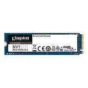 (1026702) Твердотельный накопитель SSD M.2 Kingston 1.0Tb NV1 Series <SNVS/1000G> (PCI-E 3.0 x4, up to 2100/1700Mbs, NVMe, 240TBW, 22х80mm)