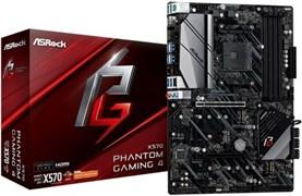 (1026729) Материнская плата Asrock X570 PHANTOM GAMING 4 Soc-AM4 AMD X570 4xDDR4 ATX AC`97 8ch(7.1) GbLAN RAID