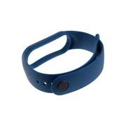 (1022704) Ремешок силиконовый Krutoff для Xiaomi Mi Band 5 (dark blue)