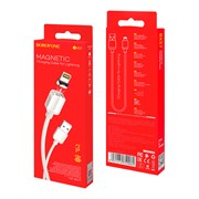 (1026816) Кабель USB - lightning BOROFONE BX57 1 m в оплетке White