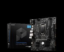 (1026847) Материнская плата MSI H510M PRO-E Soc-1200 Intel H510 2xDDR4 mATX AC`97 8ch(7.1) GbLAN+VGA+HDMI