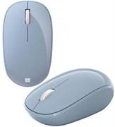 (1026891) Мышь Microsoft Bluetooth светло-голубой оптическая (1000dpi) беспроводная BT (2but) RJN-00022