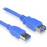 (112522)  Кабель удлинительный USB 3.0 (AM) -> USB3.0 (AF), 1.8m, 5bites (UC3011-018F)
