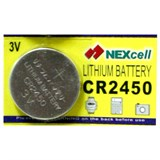 (102915) Батарейка Nexcell lithium 3v CR2450 (1шт.), 24.5 X 5.0 мм, 550 mAh