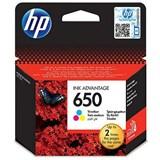 (102229) Картридж струйный HP №650 CZ102AE трехцветный для принтеров HP Deskjet Advantage 2515/ 2516