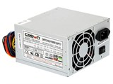 (1002911) Блок питания CROWN CM-PS400W   (20+4in, 80mm FAN, SATA*2, PATA(big Molex)*4, FDD*1, 4+4pin, Lines 1x12V OEM)