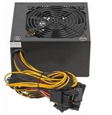 (1002890) Блок питания Aerocool ATX 600W VX-600 (24+4+4pin) PPFC 4*SATA I/O switch Haswell support