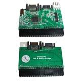 (92782) Контроллер Orient 1S-1B(N), двунаправленный конвертер IDE -> SATA/SATA -> IDE, питание от БП компьютера