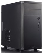 (1004258) Корпус Fractal Design Core 1100 черный w/o PSU mATX SECC 1*120mm fan USB2.0 USB3.0 audio screwless