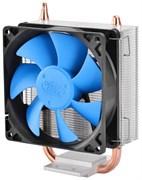 (117402) Вентилятор Deepcool ICE BLADE 100, ALL Socket,  95W, подсветка, 1 тепловая трубка 8мм, никел. медное основание