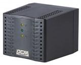 (1001820) Стабилизатор напряжения Powercom TCA-1200 Black Tap-Change, 600W