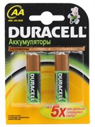 (105816) Аккумулятор Duracell HR6-2BL 2450mAh/2400mAh непредзаряженные (2 шт. в упаковке)