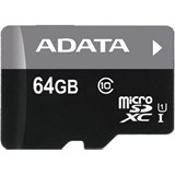 (110821) Карта  64 Gb A-Data Premier MicroSDHC (AUSDX64GUICL10-RA1), UHS-I, Class 10/ ClassU1, Retail