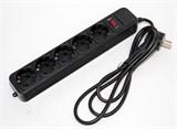 (98857) Сетевой фильтр 5bites SP5-B-30, 5 розеток, 3м, черный