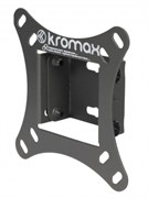 "(1003461) Кронштейн Kromax VEGA-6 для ТВ 10""-26"", настенный, 1 ст. наклон, до 20 кг., серый"