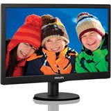 "(112098) Монитор Philips 19.5"" 203V5LSB26 (10/62) черный TN+film LED 5ms 16:9 матовая 200cd 1600x900 D-Sub"