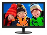 "(1001922) Монитор Philips 21.5"" 223V5LSB2 (10/62) Glossy-Black TN LED 5ms 16:9 VGA 10M:1 200cd"