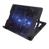 """(1003383) Подставка для ноутбука CROWN CMLS-940 (Black) 15,6"""", 2*Fan,blue light,2*USB"""