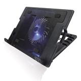 """(1003382) Подставка для ноутбука CROWN CMLS-926 (Black) 15,6"""", 1*Fan,blue light,2*USB"""
