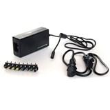 (105991)  Универсальный блок питания для нетбуков KS-IS Maxt  (KS-154)  150Вт, c регулируемым выходным напряжением  (12/ 15/ 16/ 18/ 19/ 20/ 22/ 24), 8 переходников