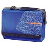 """(3330811) Сумка для ноутбука aha: Messenger, 15.6"""" (40 см), 38.5 x 28 х 4 см, Lines - синий, Hama [OhN]"""