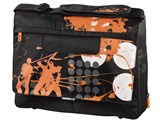 """(3330810) Сумка для ноутбука aha: Messenger, 15.6"""" (40 см), 38.5 x 28 х 4 см, On Tour - черный/ оранжевый, Hama [OnN]"""