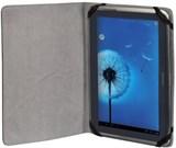 (1002154) Чехол Hama для планшетов 8'' Piscine черный кожзам (H-108271)