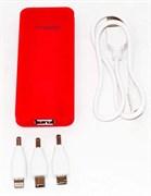 (1004512) Универсальная батарея KS-is (KS-242Red) 2600мАч, красная