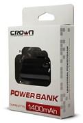 (1002041) Портативное зарядное устройство CROWN CMPB-277S (power bank) 1400mAh