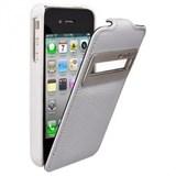 (1002739) Чехол-книжка Iphone 5C с окошком полупрозр. Крышка белый (4627087559922)