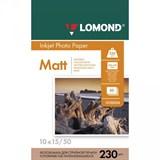 (22138) Фотобумага Lomond А6/ 230/ 50 матовая односторон (102034/ 102033)