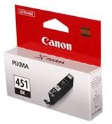 (104036) Картридж струйный Canon CLI-451BK черный (6523B001)