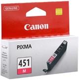 (104038) Картридж струйный Canon CLI-451M пурпурный (6525B001)