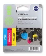 (1003722) Картридж струйный Cactus CS-EPT039 цветной для Epson Stylus C43 (6.2*3ml)