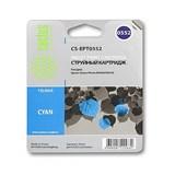 (1002395) Картридж струйный Cactus CS-EPT0552 голубой для Epson Stylus RX520/Stylus Photo R240 (300стр.)