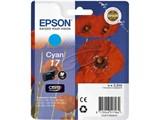 (1001019)  Картридж струйный EPSON 17 (EPT17024A10) синий для принтеров XP33/ 203/ 303 HAV3-P