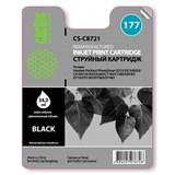 (3330620)  Картридж струйный CACTUS №177 черный для принтеров HP PhotoSmart 3213/ 3313/ 8253/ C5183/ C6183/ C6283/ C7183/ C7283/ C8183/ D7163/ D7263/ D7363/ D7463