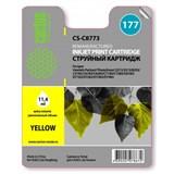 (3330623) Картридж струйный Cactus CS-C8773 желтый для №177 HP PhotoSmart 3213/ 3313/ 8253/ C5183/ C6183/ D7463 (11