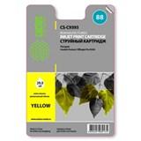 (1001587) Картридж струйный Cactus CS-C9393 №88 (желтый) для HP Officejet Pro K550