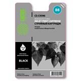 (1001586) Картридж струйный Cactus CS-C9396 №88 (черный) для HP Officejet Pro K550