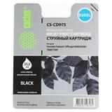 (3330778) Картридж струйный CACTUS №920XL черный для принтеров HP Officejet 6000/ 6500/ 7000/ 7500, 35мл