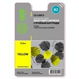 (3331271)  Картридж струйный CACTUS № 82 желтый для принтеров HP Design Jet 500/ 800C