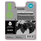 (3330768) Картридж струйный Cactus CS-C6656A черный для №56 HP DeskJet 450/ 5145/ 5150/ 5151/ 5550/ 5552 (20ml)